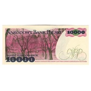Poland 10000 Zlotych 1988