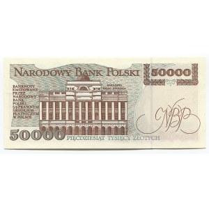 Poland 50000 Zlotych 1993