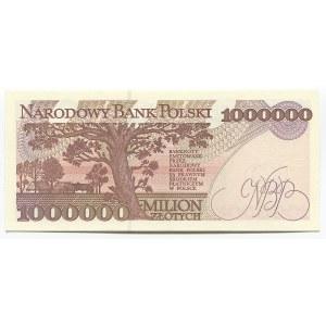Poland 1000000 Zlotych 1993