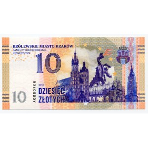 Poland 10 Zlotych 2017 Specimen Krakow