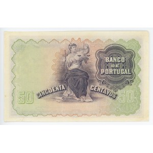 Portugal 50 Centavos 1920
