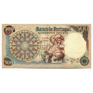 Portugal 500 Escudos 1966