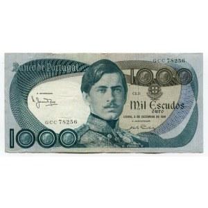 Portugal 1000 Escudos 1981