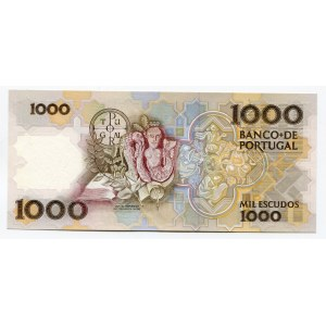 Portugal 1000 Escudos 1986