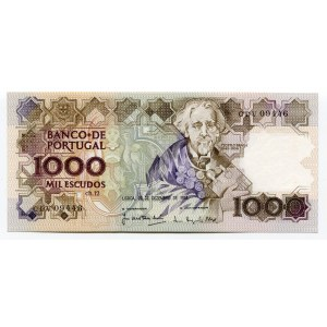 Portugal 1000 Escudos 1988