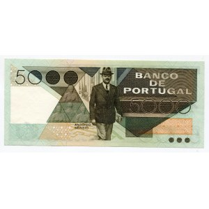 Portugal 5000 Escudos 1985