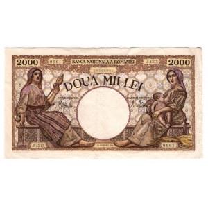 Romania 2000 Lei 1941