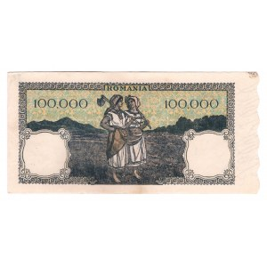 Romania 100000 Lei 1946