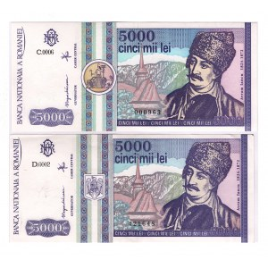 Romania 5000 Lei 1993
