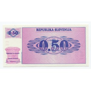 Slovenia 0,5 Tolar 1991