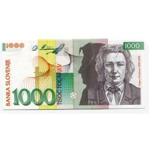 Slovenia 1000 Tolarjev 1992