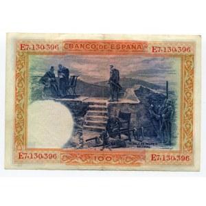Spain 100 Pesetas 1925