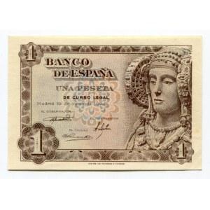 Spain 1 Peseta 1948