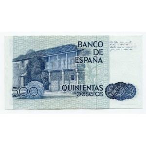 Spain 500 Pesetas 1979