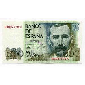 Spain 1000 Pesetas 1979