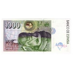 Spain 1000 Peset 1992