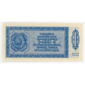 Yugoslavia 1 Dinara 1950