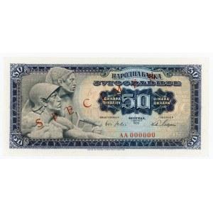 Yugoslavia 50 Dinara 1965