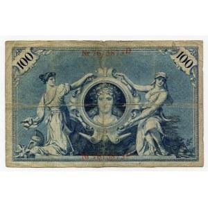 Germany - Empire 100 Mark 1908