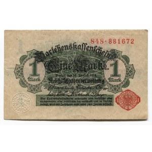 Germany - Empire 1 Mark 1914 Darlehnskassenschein