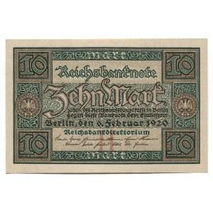 Germany - Weimar Republic 10 Mark 1920