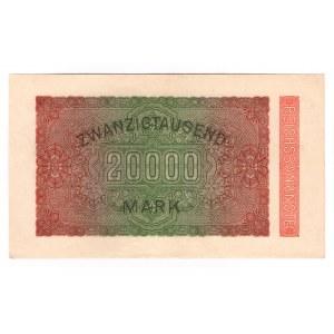 Germany - Weimar Republic 20000 Mark 1923