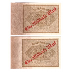 Germany - Weimar Republic 1 Million Mark 1923