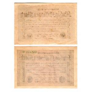 Germany - Weimar Republic 50 Million Mark 1923 2 Pieces