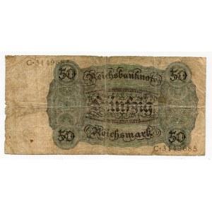 Germany - Weimar Republic 50 Reichsmark 1924