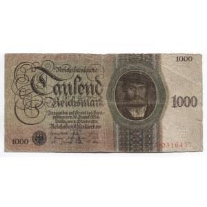 Germany - Weimar Republic 1000 Reichsmark 1924