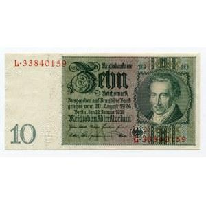 Germany - Weimar Republic 10 Reichsmark 1929