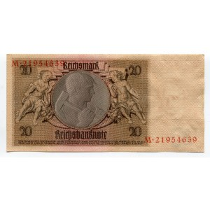 Germany - Weimar Republic 20 Reichsmark 1929
