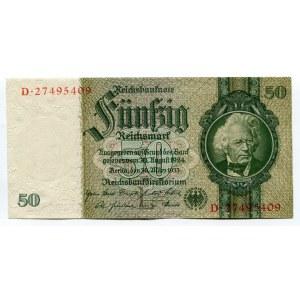 Germany - Weimar Republic 50 Reichsmark 1933