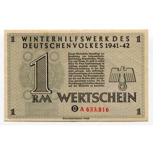 Germany - Third Reich Winterhilfswerk 1 Reichsmark 1941 - 1942 (ND)