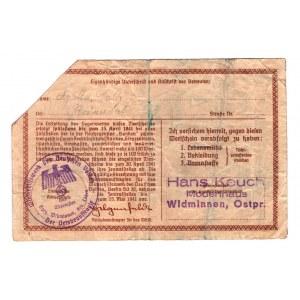 Germany - Third Reich Winterhilfswerk 50 Reichsmark 1941