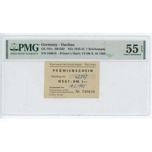 Germany - Third Reich 1943 - 1945 (ND); PMG 55