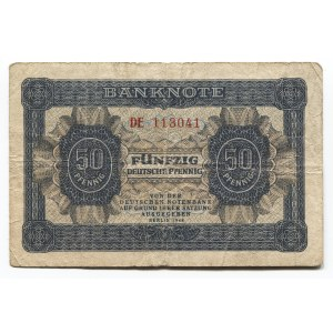 Germany - DDR 50 Pfennig 1948 Deutsche Notenbank