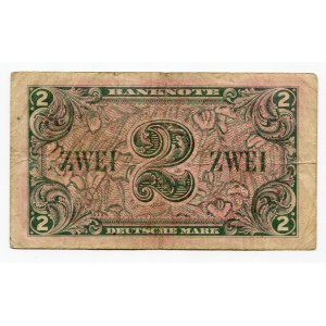 Germany - FRG 2 Deutsche Mark 1948