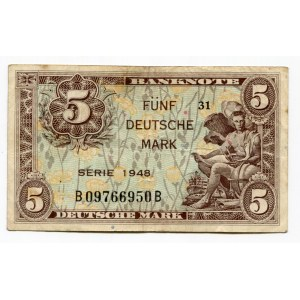 Germany - FRG 5 Deutsche Mark 1948