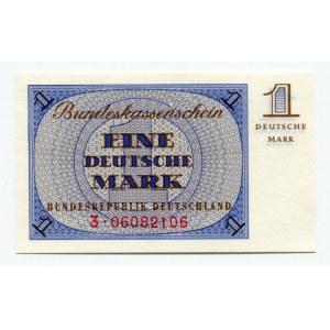 Germany - FRG 1 Mark 1967 (ND) Bundeskassenschein