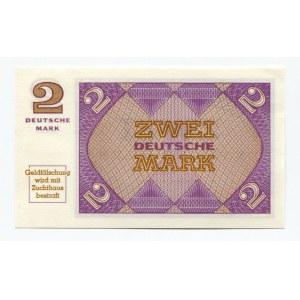 Germany - FRG 2 Mark 1967 (ND) Bundeskassenschein