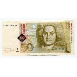 Germany - FRG 50 Deutsche Mark 1996