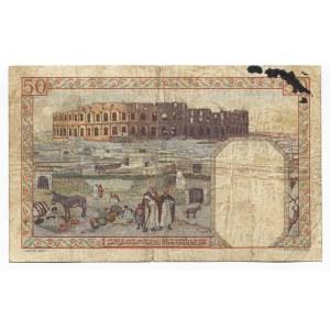 Algeria 50 Francs 1938