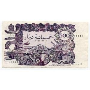 Algeria 500 Francs 1970