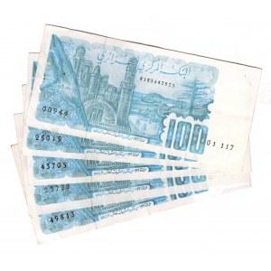 Algeria 100 Dinar 1982 5 Pieces
