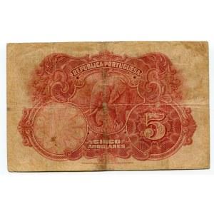 Angola 5 Angolares 1926