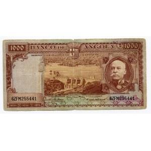 Angola 1000 Escudos 1956