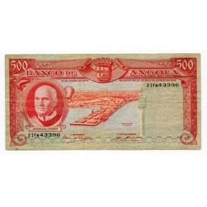 Angola 500 Escudos 1970
