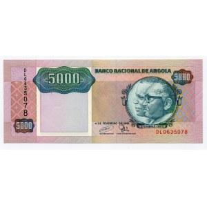 Angola 5000 Kwanzas 1991