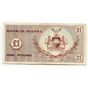 Biafra 1 Pound 1967